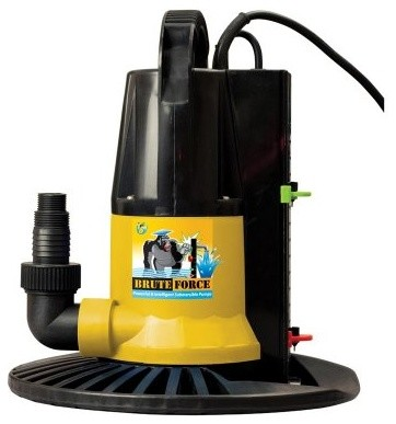 Swim Time 2450 GPH In Ground Winter Pool Cover Pump with Base - Auto On/Off modern-desk-accessories