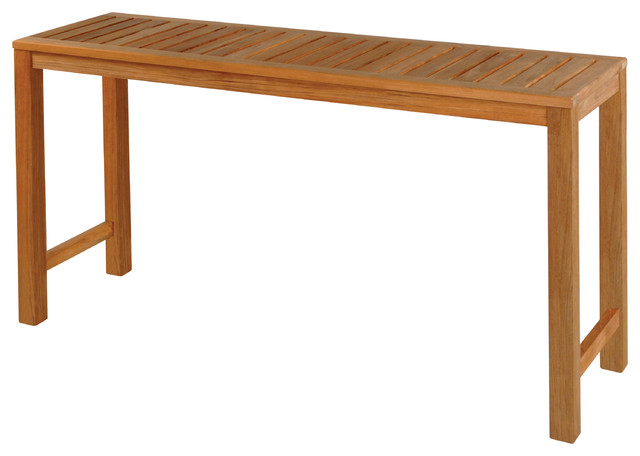 Classic 5 39 console table by kingsley bate traditional Outdoor sofa tables