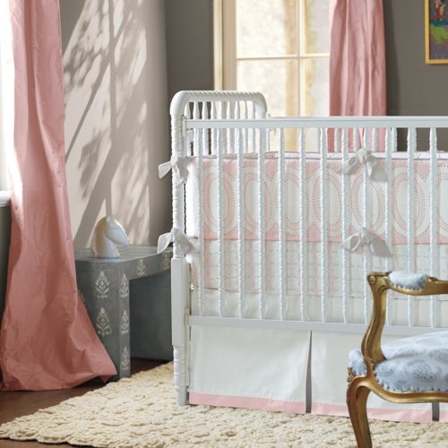 Colette Three-Piece Crib Set traditional-cribs
