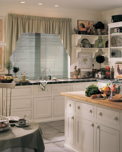 Lightlines® aluminum blinds with Cordlock traditional-window-blinds