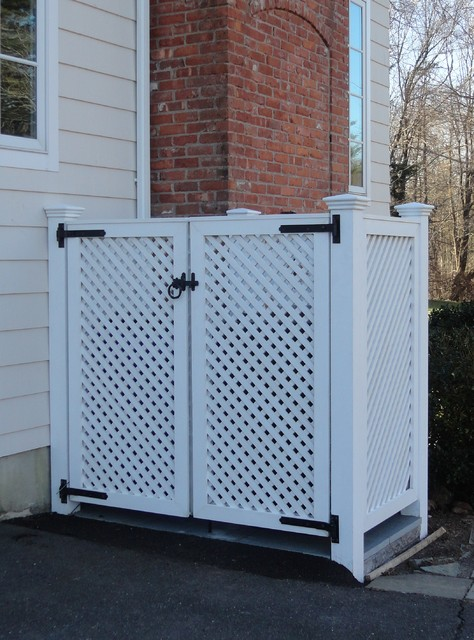 Cedar Lattice Screens and Enclosures - other metro - by West Hartford Fence Co., LLC