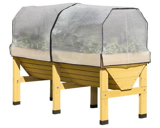 VegTrug - VegTrug Raised Bed Kit - VegTrug Patio Garden Kit comes with two covers for raised bed gardening. Garden without bending over!