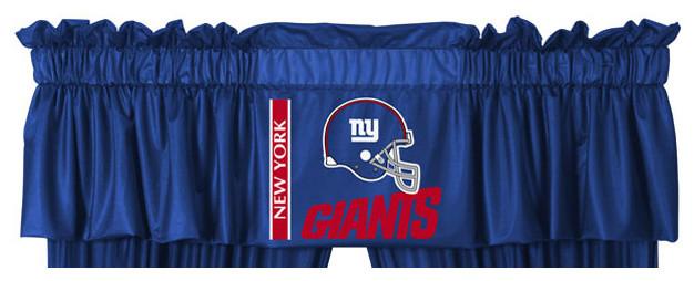 Nfl New York Giants Football Logo Locker Room Valance