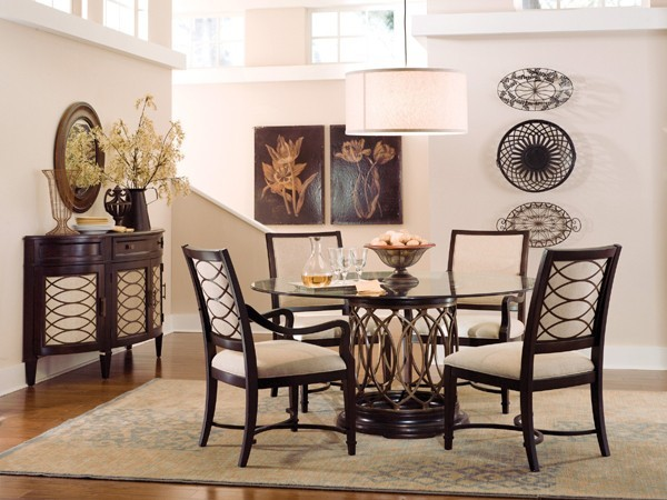 glass top dining room set art 161224 room transitional dining tables