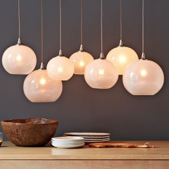 Glass Orb Chandelier | west elm