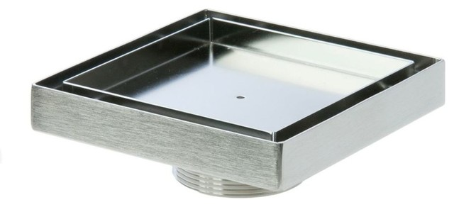 LUXE Tile Insert Square Drain TI 55 2 Modern Tub And