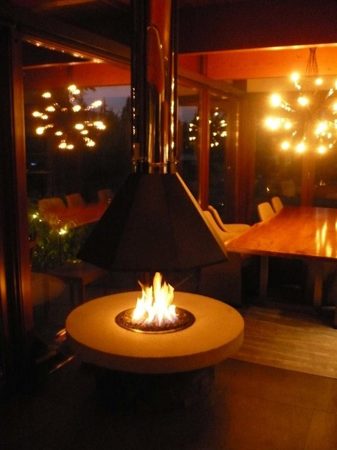 ... Suspended Hood - Fire Pits - vancouver - by Vancouver Gas Fireplaces