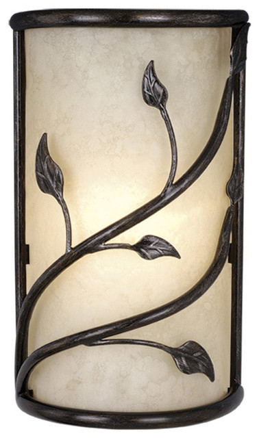 Vine Oil Shale Wall Sconce traditional-wall-sconces