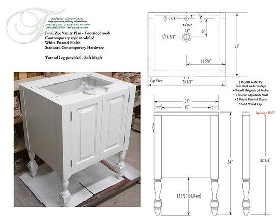 Custom Woodwork - Vanities -