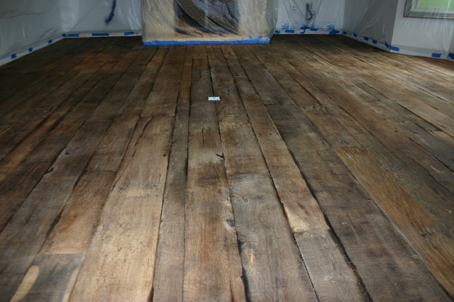 Reclaimed Antique French Oak Refinishing