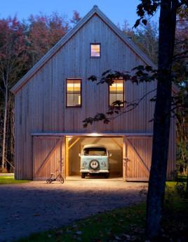 Solar Barn traditional-exterior