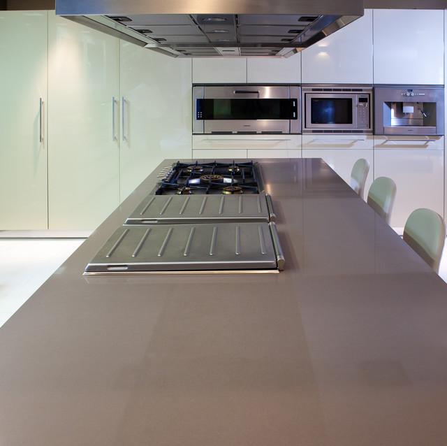 Silestone unsui contemporain comptoir de cuisine et for Silestone cuisine