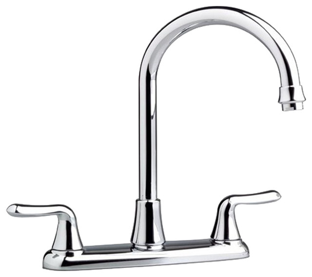 american standard 4275 550 002 colony soft two handle kitchen faucet chrome modern kitchen