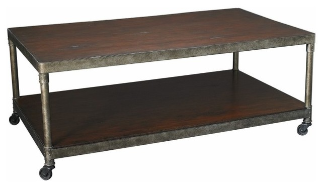 Hammary Structure Rectangular Coffee Table Multicolor - T3002000-00 contemporary-furniture