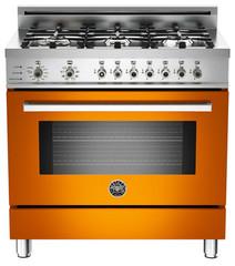 36 6-Burner, Electric Self-Clean Oven   Professional Series   Ranges   Bertazzon
