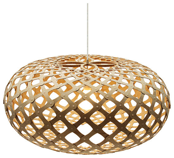 Kina Natural Pendant by David Trubridge contemporary pendant lighting