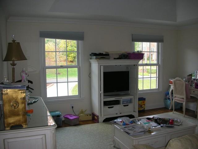 Master Bedroom/Bathroom Suite with Sitting Room-Basking Ridge, NJ traditional