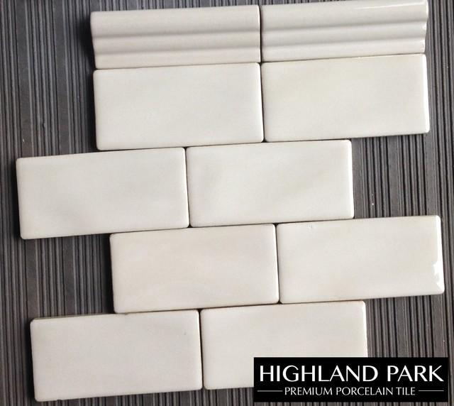 Highland Park Handcrafted 3x6 Quot Porcelain Tile