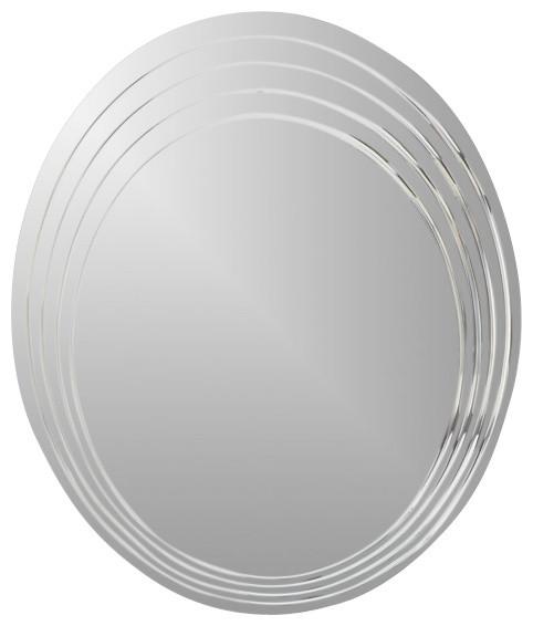 Decor Wonderland Bryn Modern Bathroom Mirror traditional-bathroom-mirrors
