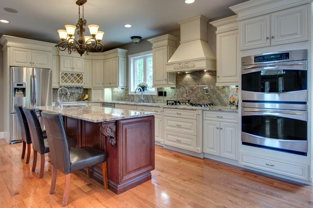 French Vanilla Glaze - RTA in Stock Kitchen Cabinets - Traditional - Kitchen Cabinetry - new ...