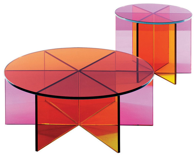 Glas Italia XXX Glass Coffee Table modern-coffee-tables