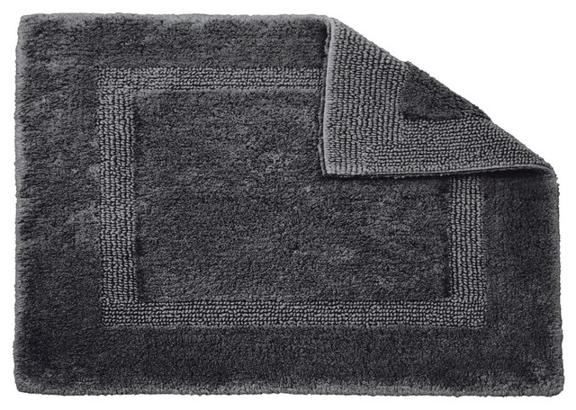 Habidecor Reversible Metal Bath Rug X Large Traditional Bath Mats By F
