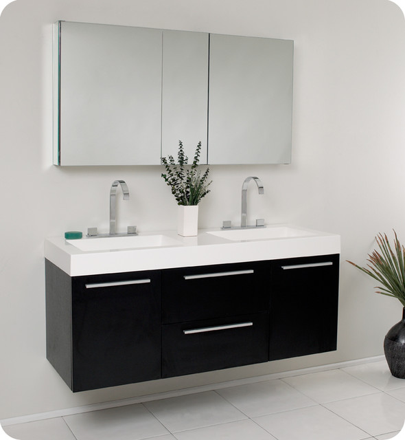 Floating Bathroom Vanities - Contemporary - Bathroom Vanities And Sink ...
