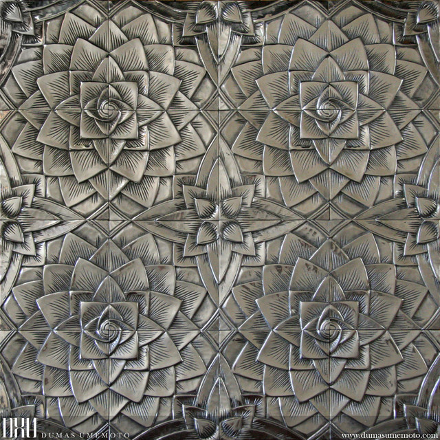 Metal Tiles Collection | Lotus Series - Asian - Tile - montreal - by DXU by Dumas Umemoto
