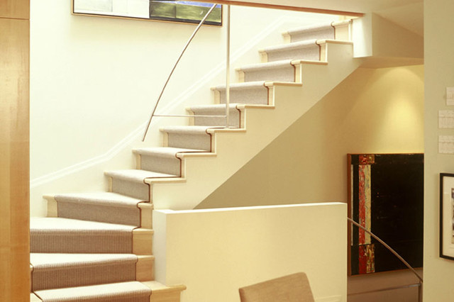 House on Redpath Crescent modern-staircase
