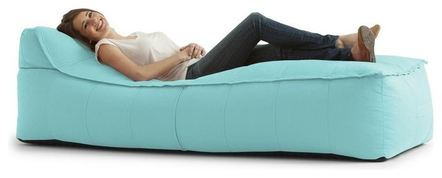 Big Joe Zip It! Chaise Bean Bag - Contemporary - Bean Bag ...