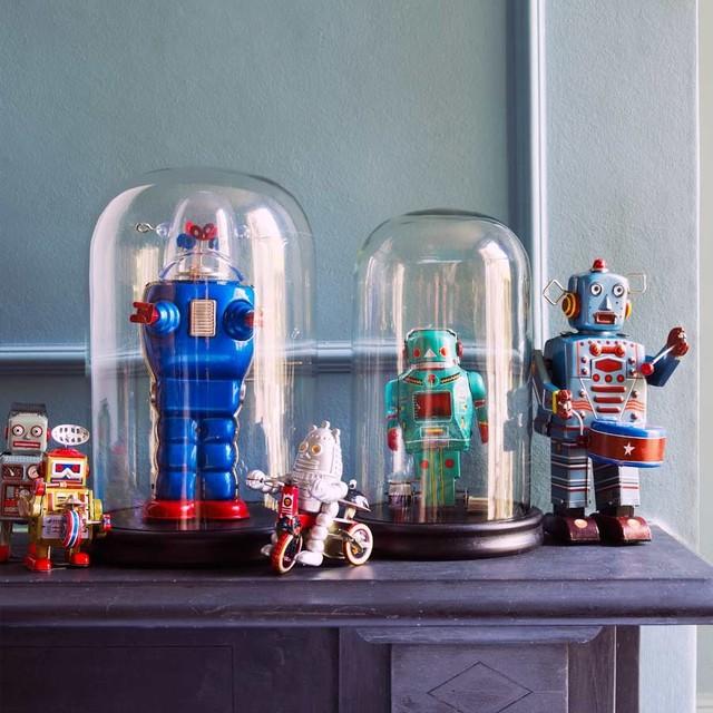 Tin Robots eclectic-artwork