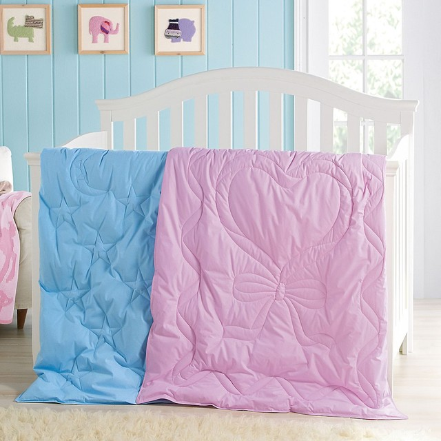 Tcs Down Free Crib Comforter Contemporary Baby Bedding