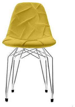 Kubikoff Diamond Pop Chair Yellow chairs