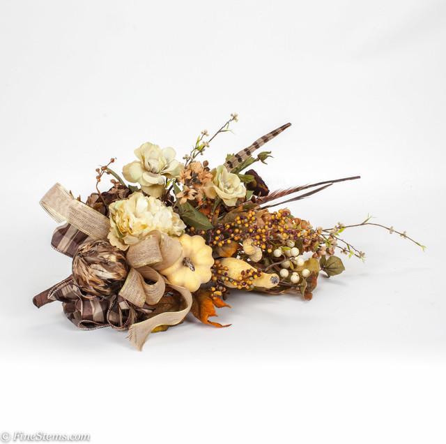 Fall Silk Floral Arrangements traditional-artificial-flower-arrangements