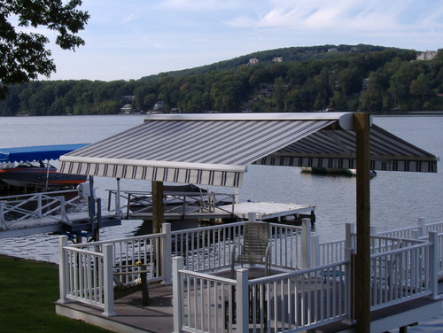 Too hot to enjoy your boat dock deck or patio in the for Deck gets too hot