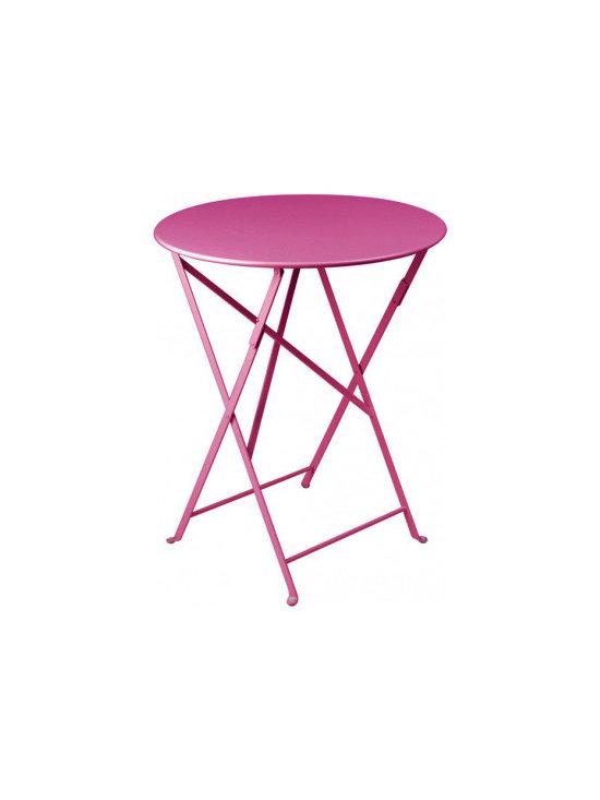 Fermob Small Round Bistro Folding Table -