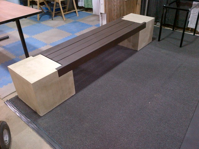 Creations Contemporary Outdoor Benches Indianapolis By Schurger Concrete Abstracts