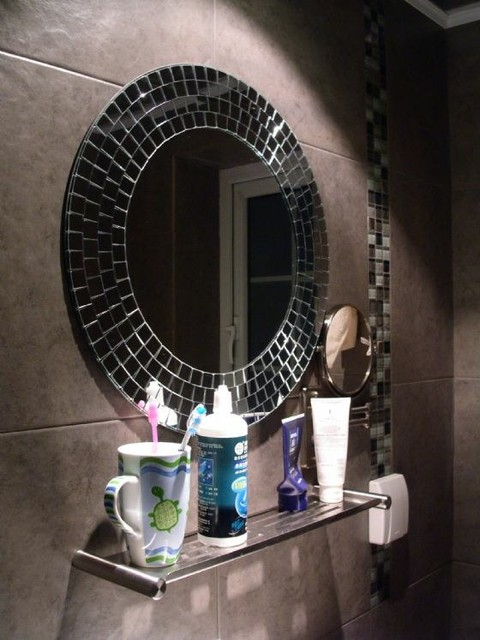 Mosaic Bathroom Mirror For Mosaic Bathroom Mirror For Home Decoration Modern Bathroom