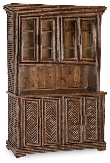 Rustic Hutch #2043 by La Lune Collection - Rustic - China Cabinets And Hutches - milwaukee - by ...