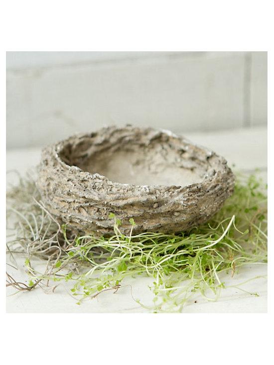Cement Bird's Nest -