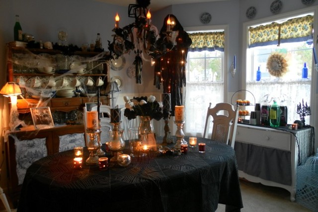 Decorating for halloween traditional raleigh by lisa