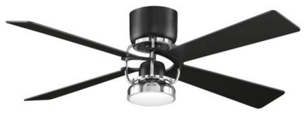 Fanimation Camview Ceiling Fan in Black contemporary-ceiling-fans