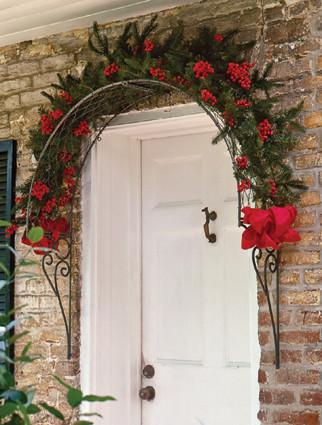 Door or Window Trellis pergolas-arbors-and-trellises