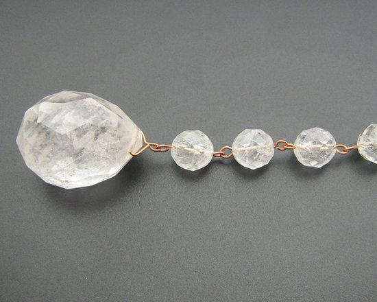 Rock crystal Chandelier Drops -