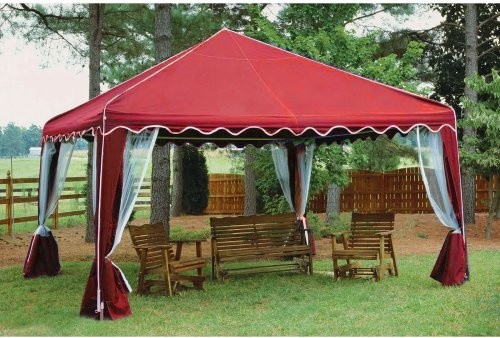 Modern Garden Gazebo : Canopy 10 x 10 ft. Garden Party Gazebo Canopy - Contemporary - Gazebos ...