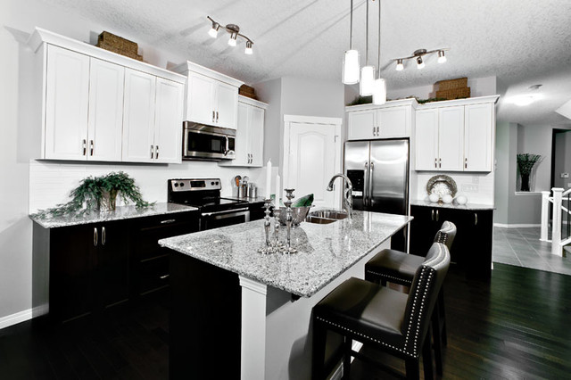 calgary ab contemporary kitchen calgary by shane homes ltd