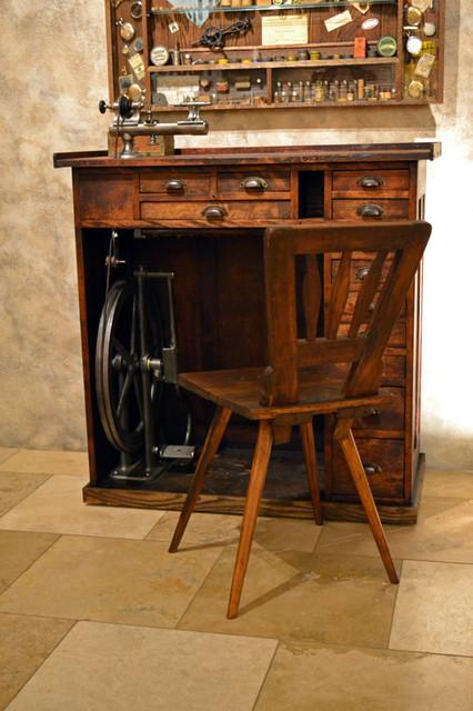 Vintage Watch Maker's Desk - Eclectic - phoenix - by SCOTTSDALE ART FACTORY