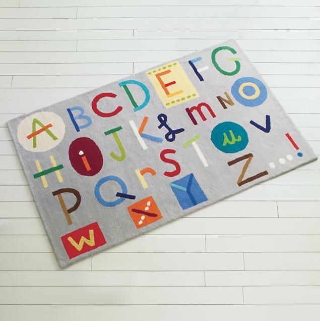 Kids Colorful Alphabet Abc Rug Modern Children 39 S Rugs