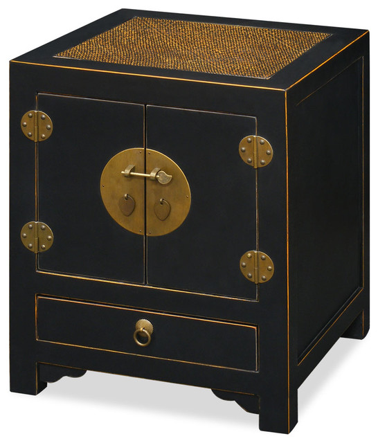 ming style cabinet asiatique table de chevet et table de nuit par china furniture and arts. Black Bedroom Furniture Sets. Home Design Ideas