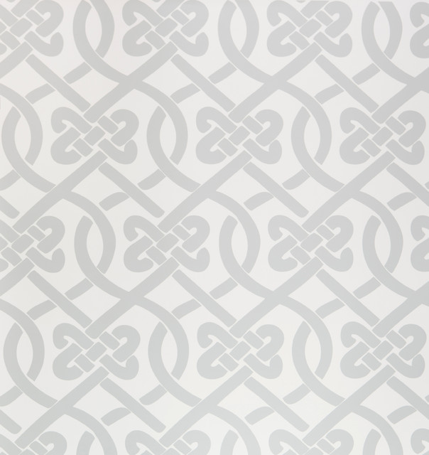 Knotted wallpaper sample frost contemporary for Modern wallpaper samples